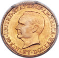 Commemorative Gold, 1916 G$1 McKinley MS67 PCGS....