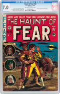 Golden Age (1938-1955):Horror, Haunt of Fear #10 (EC, 1951) CGC FN/VF 7.0 Off-white to whitepages....