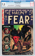 Golden Age (1938-1955):Horror, Haunt of Fear #21 (EC, 1953) CGC VF- 7.5 Off-white to whitepages....