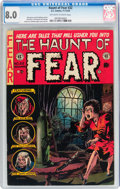 Golden Age (1938-1955):Horror, Haunt of Fear #22 (EC, 1953) CGC VF 8.0 Off-white to whitepages....