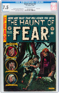 Golden Age (1938-1955):Horror, Haunt of Fear #23 (EC, 1954) CGC VF- 7.5 Off-white to whitepages....