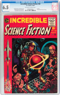 Golden Age (1938-1955):Horror, Incredible Science Fiction #30 (EC, 1955) CGC FN+ 6.5 Off-white towhite pages....