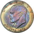 Eisenhower Dollars, 1976 $1 Type One MS66 PCGS. CAC....