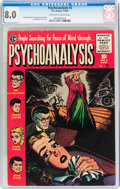 Golden Age (1938-1955):Horror, Psychoanalysis #3 (EC, 1955) CGC VF 8.0 Off-white to whitepages....