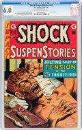 Golden Age (1938-1955):Horror, Shock SuspenStories #12 (EC, 1953) CGC FN 6.0 Off-white to whitepages....