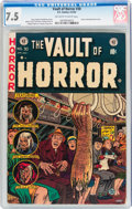 Golden Age (1938-1955):Horror, Vault of Horror #30 (EC, 1953) CGC VF- 7.5 Off-white to whitepages....