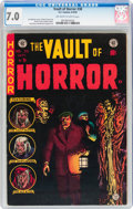 Golden Age (1938-1955):Horror, Vault of Horror #38 (EC, 1954) CGC FN/VF 7.0 Off-white to whitepages....