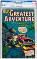 Golden Age (1938-1955):Horror, My Greatest Adventure #1 (DC, 1955) CGC FN 6.0 Cream to off-whitepages....