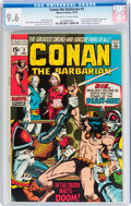 Bronze Age (1970-1979):Adventure, Conan the Barbarian #2 (Marvel, 1970) CGC NM+ 9.6 Off-white to white pages....