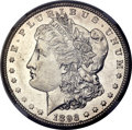 Morgan Dollars, 1893-CC $1 AU58 NGC....