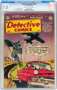 Detective Comics #200 (DC, 1953) CGC FN/VF 7.0 Cream to off-white pages