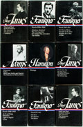 Books:Americana & American History, Nine Volumes in The Library of America Series. Featuring works byHenry James, William Faulkner, Alexander Hamilton and Henr...(Total: 9 Items)