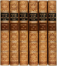 Robert Southey. History of the Peninsular War. London: John Murray, 1828. Complete in 6 volumes