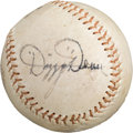 Autographs:Baseballs, Circa 1970 Dizzy Dean Single Signed Baseball....