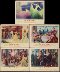 """Lady in the Dark (Paramount, 1944). Lobby Cards (5) (11"""" X 14""""). Comedy. ... (Total: 5 Items)"""