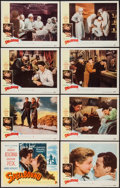 "Movie Posters:Hitchcock, Spellbound (United Artists, R-1949). Lobby Card Set of 8 (11"" X14""). Hitchcock.. ... (Total: 8 Items)"