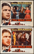 """Movie Posters:Exploitation, The Wild One (Columbia, 1953). Lobby Cards (2) (11"""" X 14"""").Exploitation.. ... (Total: 2 Items)"""