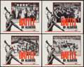 "Movie Posters:War, The Battle of Algiers (Allied Artists, 1968). Lobby Card Set of 4(11"" X 14""). War.. ... (Total: 4 Items)"