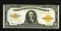 Large Size:Gold Certificates, Fr. 1173 $10 1922 Gold Certificate Extremely Fine. Handling is hard to detect on this $10 Gold....