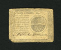 Colonial Notes:Continental Congress Issues, Continental Currency September 26, 1778 $20 Fine....