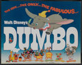 "Movie Posters:Animated, Dumbo Lot (Buena Vista, R-1972). Title Lobby Card and Disney LobbyCards (5) (11"" X 14""). Animated. ... (Total: 6 Items)"