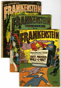 Golden Age (1938-1955):Horror, Frankenstein Comics #6, 10, and 33 Group (Prize, 1947-67) ....(Total: 5 Comic Books)