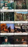 """Movie Posters:War, Kelly's Heroes (MGM, 1970). French Lobby Card Set of 12 (9.5"""" X11.5""""). War.. ... (Total: 12 Items)"""