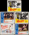 "Movie Posters:Sexploitation, Playgirls International & Others Lot (Westfield Productions,1963). Title Lobby Card & Lobby Cards (8) (11"" X 14"").Sexploit... (Total: 9 Items)"