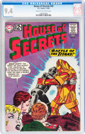 Silver Age (1956-1969):Mystery, House of Secrets #55 (DC, 1962) CGC NM 9.4 Cream to off-whitepages....