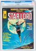 Magazines:Science-Fiction, Marvel Preview #4 Star-Lord (Marvel, 1976) CGC NM- 9.2 Whitepages....