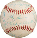 Autographs:Baseballs, 1959 New York Yankees Team Signed Baseball....