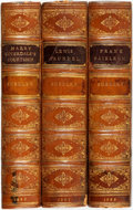 Books:Literature Pre-1900, Frank E. Smedley. Group of Three Novels. London: Downey, 1899.Three volumes, uniformly bound by J. Larkins in half calf ove...(Total: 3 Items)