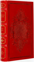 Books:Literature 1900-up, [Featured Lot] Jean-Paul Sartre. SIGNED. Five Plays.Franklin Center: The Franklin Library, 1978. Later edition. S...