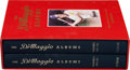 """Autographs:Others, 1989 Joe DiMaggio Double Signed """"The DiMaggio Albums"""" First Edition Boxed Set of Books...."""