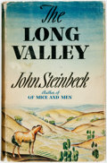 Books:Literature 1900-up, [Featured Lot] John Steinbeck. The Long Valley. New York:Viking, 1938. First edition. Publisher's cloth and origina...