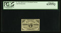 Fractional Currency:Third Issue, Fr. 1226 3¢ Third Issue PCGS Choice New 63PPQ.. ...