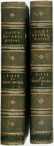 Books:Natural History Books & Prints, R. Bowdler Sharpe. A Hand-Book to the Birds of Great Britain. London: Edward Lloyd, 1896. Two volumes. Contemporary ... (Total: 2 Items)
