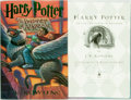 Books:Science Fiction & Fantasy, [Featured Lot] J.K. Rowling. SIGNED. Harry Potter and thePrisoner of Azkaban. Arthur A. Levine, [1999]. Second prin...