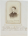 Photography:CDVs, Union Colonel Ulric, Killed in Action on a Raid on Richmond, Carte de Visite Signed by His Father Rear Admiral John ...