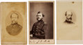 Photography:CDVs, Lot of Three Union Generals Cartes de Visite.... (Total: 3 )