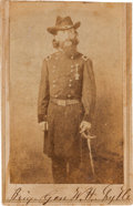 Photography:CDVs, Union Brigadier General William Haines Lytle, Mortally Wounded at Chickamauga, Carte de Visite....