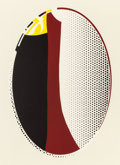 Prints:Contemporary, ROY LICHTENSTEIN (American, 1923-1997). Mirror #6, 1972.Lithograph and screenprint in colors. 40-1/2 x 29-3/4 inches (1...