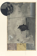 Prints:Contemporary, JASPER JOHNS (American, b. 1930). Evian, 1972. Lithograph incolors on Angoumois paper. 44 x 29 inches (111.8 x 73.7 cm)...