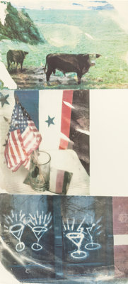 ROBERT RAUSCHENBERG (American, 1925-2008) Witness (from the Speculations series)