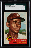 Baseball Cards:Singles (1950-1959), 1953 Topps Satchell Paige #220 SGC 82 EX/MT+ 6.5. ...