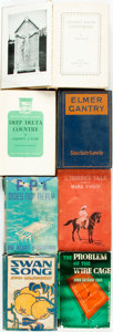 Books:Fiction, [Fiction]. Group of Seven Fiction Books. Various publishers anddates. Publishers' bindings. Three in dust jackets. Good to ...(Total: 7 Items)