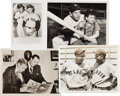 Baseball Collectibles:Photos, 1930's-1970's Joe DiMaggio, Mickey Mantle & Others VintagePress Photographs Lot of 16....