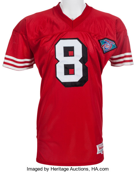 d24b6b05490 1994 Steve Young Game Worn San Francisco 49ers Jersey With