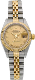 Timepieces:Wristwatch, Rolex Ref. 79173 Lady's Two Tone Oyster Perpetual Datejust, circa 2001. ...