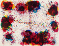 Prints:Contemporary, SAM FRANCIS (American, 1923-1994). Lyre Eight, 1972.Screenprint in colors. 42-1/2 x 54-1/2 inches (108.0 x 138.4 cm).E...